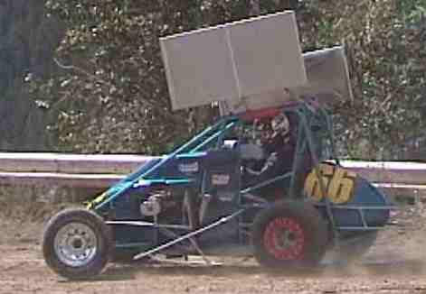 Midget Dirt Track Rennen